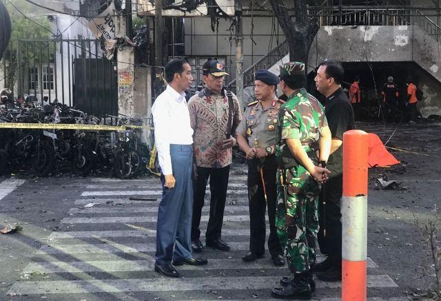 Teror Bom Di Surabaya Merupakan Anggota ISIS